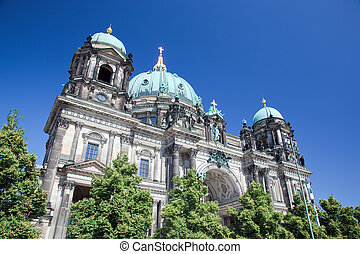 Berlin Cathedral Berliner Dom, Germany - Berlin Cathedral...