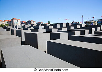 The Holocaust Memorial, Berlin, Germany - The Holocaust...