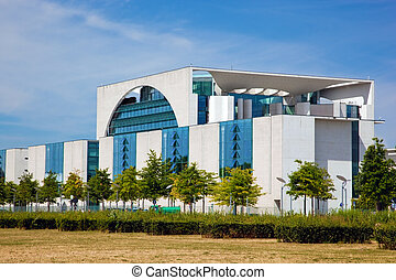 The German Chancellery, Berlin, Germany - The German...