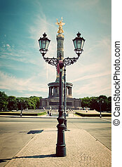 The Victory Column in Berlin, Germany - The Victory Column...