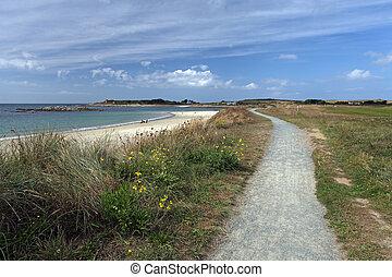 Le Grande harve Guernsey - Channel Island beach Le grande...