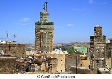 Madrasa Bou Inania in Fes, Morocco