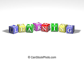 Illustration of learning blocks