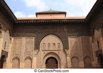Madrasa Ben Youssef - Islamic college Madrasa Ben Youssef in...