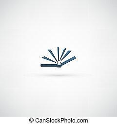 Vector icon ? Book