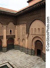 Madrasa Ben Youssef - Islamic college Madrasa Ben Youssef in...