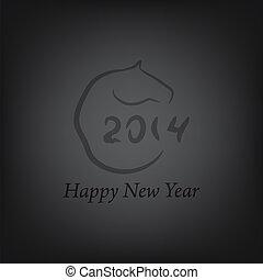 Horse 2014 year chinese