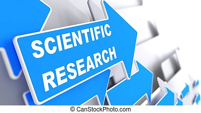 Scientific Research. Science Concept. - Scientific Research...
