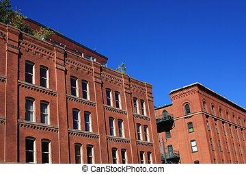 Old Red Brick Buildings Series 2