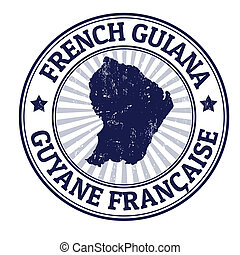 French Guiana stamp