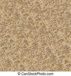 Seamless Texture of Wet Dirt Country Road - Seamless Texture...