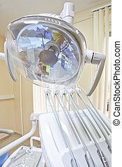 dental floodlight - The image of a dental floodlight