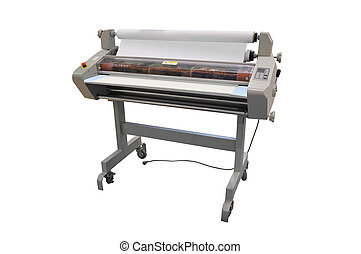 printing equipment - the image of a printing equipment