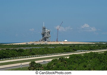 Kennedy Space Center launch station, Cape Canaveral, Florida