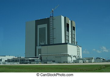 Kennedy Space Center - NASA vehicle assembling building at...