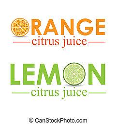 citrus fruit over white background vector illustration