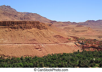 Dades Valley - Village in Dades Valley, Morocco