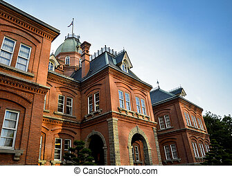 Red Brick Building in Sapporo Japan1