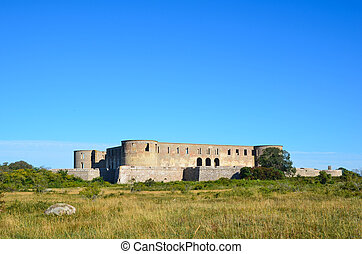 Borgholm castle ruin, Sweden - The famous Borgholm castle...
