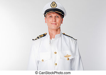 sea captain - courageous captain sea ship
