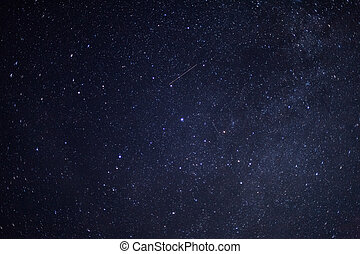 Starry Sky - a dark night sky with lots of stars