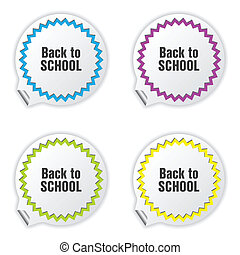 back to school tickets with special design