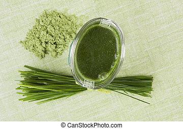 verde, alimento, Suplementos