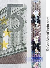 5, Euro, nota, macro