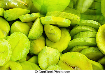 Mango fruit.