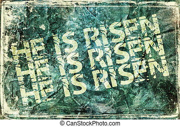 "He Is Risen - ""He Is Risen"" Religious Background"