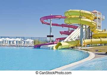 Fun Time in Aqua Park Izmir,Turkey