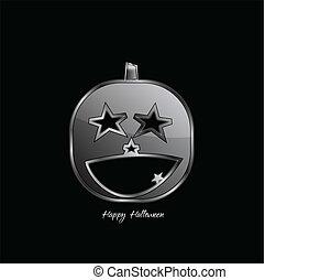 Halloween pumpkin - Abstract Design - Halloween pumpkin on...