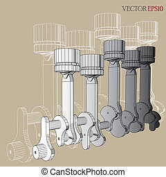 Engine of Vector Sketch