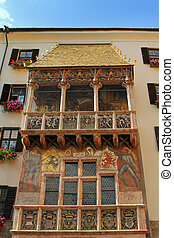 Golden Roof (Goldenes Dachl) - The famous Golden Roof...