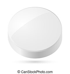 White disk.