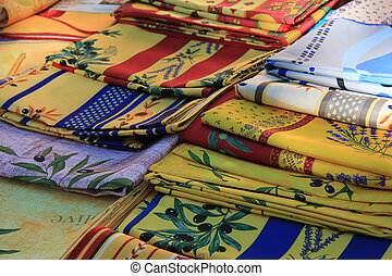 Provencal fabrics - Traditional Provencal patterns on...