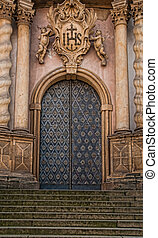 Cathedral Door and Steps