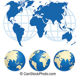Map of the World - Map of the world Map source public...