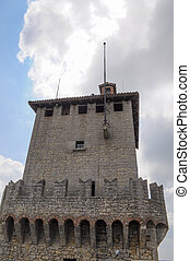 Rocca Guaita San Marino - Rocca Guaita in the Republic of...