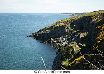 Cliffwalking Between Bray and Greystones, Ireland - The...