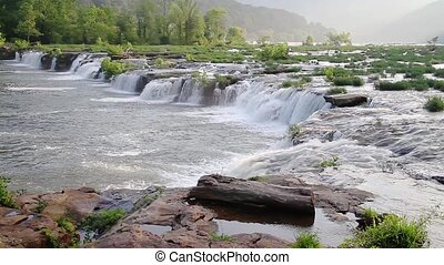 Sandstone Falls Loop - Loop features a beautiful wide...