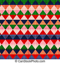 seamless colorful geometric pattern