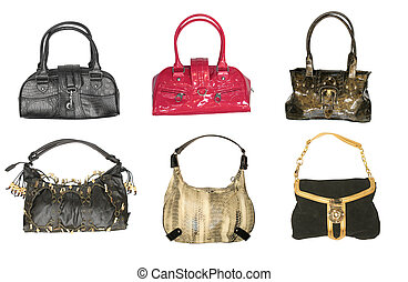 collection of handbags - woman accessories. collection of...
