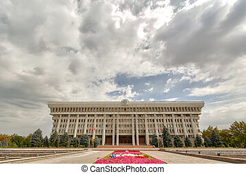 The parliament (Supreme Council) of the Kyrgyz Republic