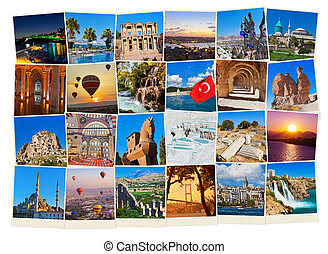 Stack of Turkey travel images - nature and architecture...