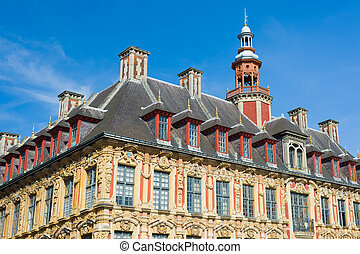 Vieille Bourse in Lille - Vieille Bourse the old stock...