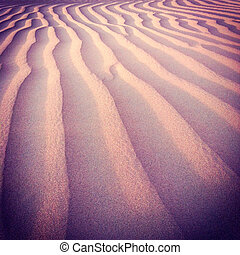 Sand Dunes - beautiful desert dunes and sand textures in the...