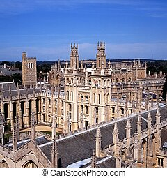 All Souls College, Oxford, UK. - All Souls College (The...
