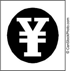 Japanese Yen Vector Icon