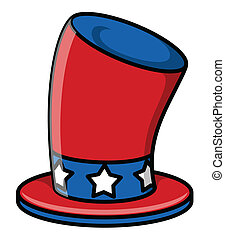 uncle sam hat Vector Illustration